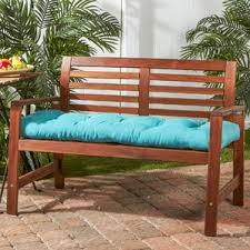 Garden Bench With Cushion Outdoor Bench Cushions