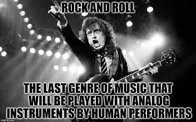 Rock Music Memes - just an thought worth pondering imgflip