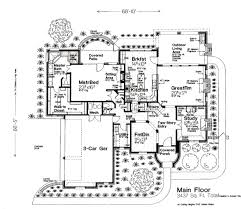 Outdoor Living Floor Plans by European Style House Plan 4 Beds 3 50 Baths 3437 Sq Ft Plan 310 644