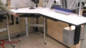 Telescoping Table Richelieu Hardware Hiker Electric Table Leg Youtube