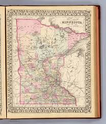 Minnesota Map Minnesota David Rumsey Historical Map Collection