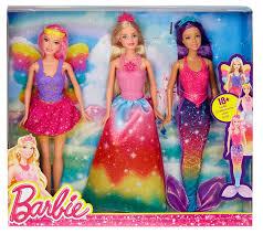 barbie fairytale 3 doll gift