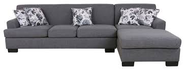 Reversible Sectional Sofas Allen Modern Fabric Reversible Sectional Sofa Set Transitional