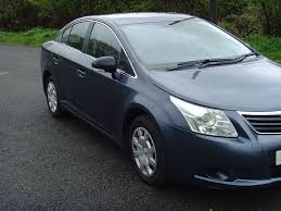 2010 toyota avensis t2 d 4d 6 speed manual in lostock