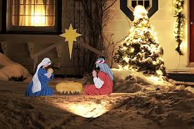 outdoor nativity decorations design