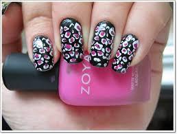 25 zebra print nails design ideas