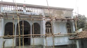 make my house plastering design on exterior wall of house