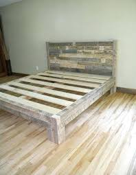 Solid Bed Frame King Wooden Bed Frames Unispa Club
