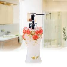 aliexpress com buy bathroom soap dispenser set vintage rose