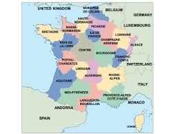 Champagne France Map by Europe Ppt Powerpoint Maps Open Office Presentations Cartes