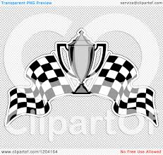 Chequered Flag Emoji Trophy Clipart Racing Pencil And In Color Trophy Clipart Racing