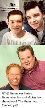 Meme From Shameless - sa rt remember ian and mickey from shameless this them now feel old