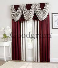 Valance And Curtains Curtains Drapes U0026 Valances Ebay