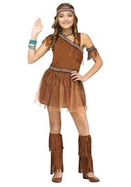 Girls Raccoon Halloween Costume Native American Indian Costumes Halloweencostumes