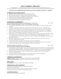 Pharmaceutical Regulatory Affairs Resume Sample Resume Samples Biology Resume Ixiplay Free Resume Samples