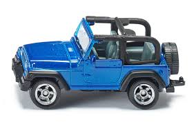 rubicon jeep blue amazon com siku jeep wrangler die cast vehicle toys u0026 games