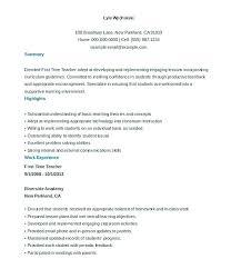 resume format for teachers freshers doc holliday resume format of teacher assistant teacher resume sle fields