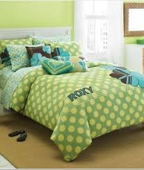 Surfer Comforter Sets Aqua And Green Comforter Twin Roxy Vivid Lime Green And Aqua