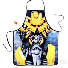 funny thanksgiving aprons aprons transformers bumblebee kitchen apron movie characters