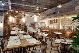 Interior Designs For Restaurants by Best 25 Rustic Restaurant Interior Ideas On Pinterest Rustic