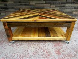 handmade coffee table chevron pallet coffee table wooden pallet furniture