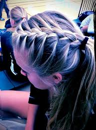 updos for long hair i can do my self cute easy volleyball hairstyle volleyball stuff pinterest