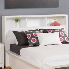 Bookcase Headboard Beds Prepac Calla Bookcase Headboard U0026 Reviews Wayfair
