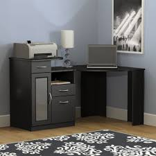 home office black corner desk with cubby rum babytimeexpo furniture