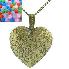long love heart necklace images Love heart necklace with locket picture online shopping in pakistan jpg