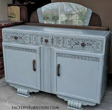 Buffet With Hutch Furniture Hutches Cabinets U0026 Buffets Painted Glazed U0026 Distressed
