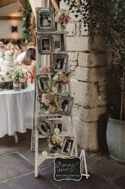 decorate your vintage wedding with seemly useless ladders