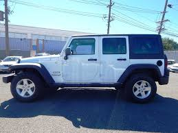 2014 Used Jeep Wrangler Unlimited Sport At Fiat De Ponce Serving