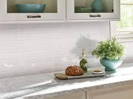 2x4 Subway Tile Backsplash by Subway Tile Domino White Glossy Subway Tile 2x4