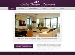 holiday home website template 3 free vacation template phpjabbers