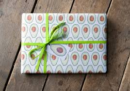 themed wrapping paper avocado wrapping paper avocado giftwrap wrapping paper for