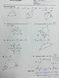 worksheet triangle sum and exterior angle t gallery for website