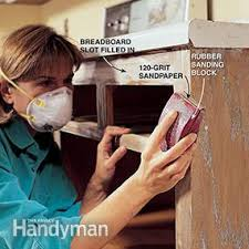 How To Refinish Kitchen Cabinets With Paint How To Refinish Kitchen Cabinets Family Handyman