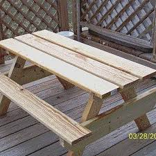 Plans For Building A Picnic Table by Best 20 Kids Picnic Table Plans Ideas On Pinterest Kids Picnic