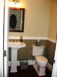 bathroom posh wall paint bathtub space tile inside