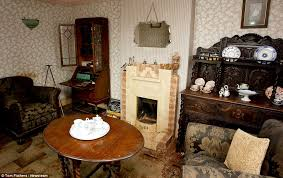 1940 homes interior ryton on dunsmore farm house has stood untouched since the 1940s