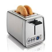 T Fal Digital 4 Slice Toaster T Fal 4 Slice Toaster With Electronic Countdown Timer Black