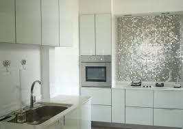 Steel Tile Backsplash by Inspiration From Kitchens With Stainless Steel Backsplashes Best