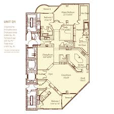 one queensridge place char luxury unit d1 unit d1 qrp floor plans