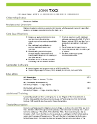 Statistician Resume Sample by Resume Starters