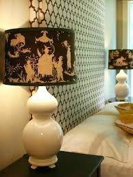 Light Shades For Bedrooms Custom Fabric Covered Lshade Hgtv