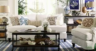 Coastal Themed Living Room Designs Decorating Ideas - Beach style decorating living room