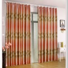 Red Orange Curtains Black And Orange Curtains Curtain Curtain Image Gallery