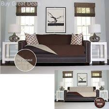 Cover For Sectional Sofa Leather Sofa Slip Cover Ebay