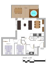 Plan Apartment by Apartment Morzine Floor Plan Apartment To Rent Morzine