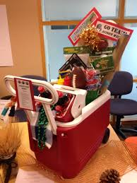 tailgate gift basket silent auction basket sport themed
